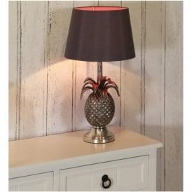 30-010-BO/36-017-10BK Chelmsford Table Lamp Antique Silver