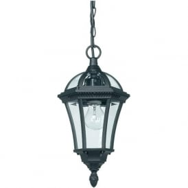 YG-3503 Drayton Outdoor 1 Light Porch Lantern Black IP44