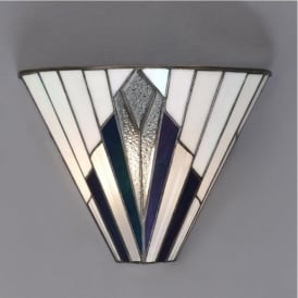 63940 Astoria 1 Light Tiffany Wall Light