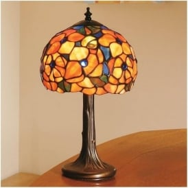 64210 Josette 1 Light Tiffany Small Table Lamp