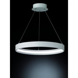 PCH118 Hollo LED Ceiling Pendant Ivory (Small)