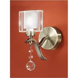 FL2165/1 Theory Wall Light Bronze