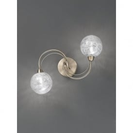 FL2328/2 Gyro 2 Light Ceiling/Wall Light Bronze