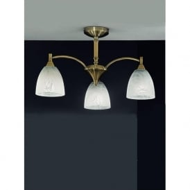 FL2105/3 Emmy 3 Light Ceiling Light Bronze