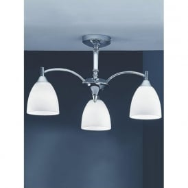 FL2087/3 Emmy 3 Light Ceiling Light Polished Chrome