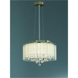 FL2346/6 Ambience 6 Light Ceiling Pendant Bronze