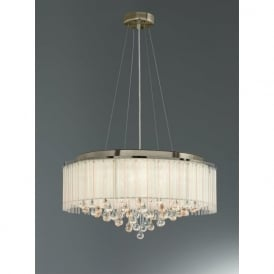 FL2346/8 Ambience 8 Light Ceiling Pendant Bronze
