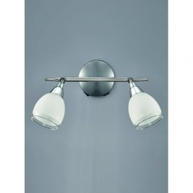 SPOT8962 Lutina 2 Light Switched Spotlight Chrome