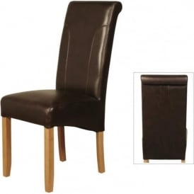Charlotte Leather Dining Chair