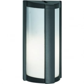 3732GY Outdoor 1 Light Wall Light Dark Grey IP54