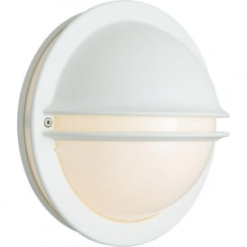 Norlys BERLIN/E27/WHT/O Berlin Outdoor 1 Light Wall Light White IP54