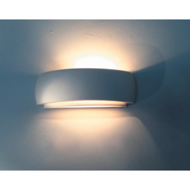 0322DUR Durham 1 Light Double Insulated Gypsum Wall Light