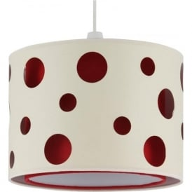 33-029-RE Victor Non-Electric Easy Fit Pendant Red