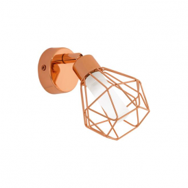Eglo 95545 Zapata 1 Light Spot Light Copper