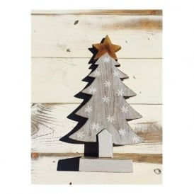 Shoeless Joe 5261 Snowflake Christmas Tree