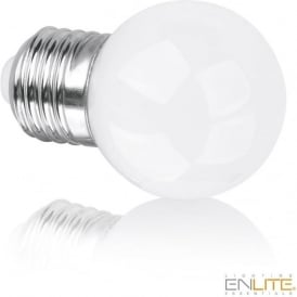 EN-DG45E145/27 SES/E14 ES/E27 5w 360° LED Golf Ball Lamp Warm White Dimmable