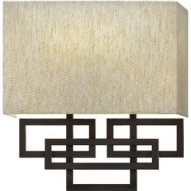Elstead Hinkley HK/LANZA2 Lanza 2 Light Wall Light Bronze