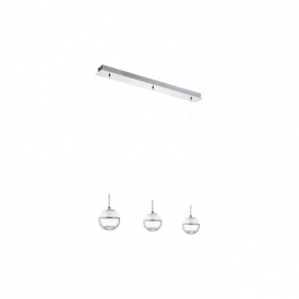 Eglo 93784 Montefio 1 3 Light Ceiling Light Polished Chrome