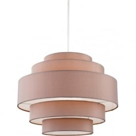 Firstlight 5912TA Apollo 1 Light Pendant Taupe