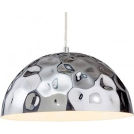 Firstlight 3445CH Enigma 1 Light Pendant Polished Chrome