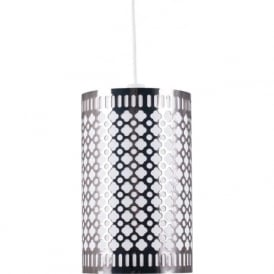 Pacific Lifestyle 33-053-BK Neo Non Electric Easy Fit Pendant Black Chrome