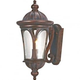 Searchlight 4272BR Canada 1 Light Outdoor Wall Light Weathered Brown IP44