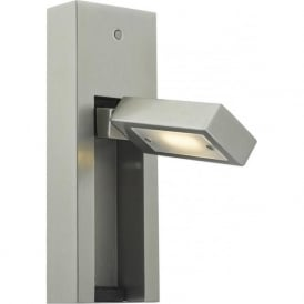 Dar MYL7146 Mylie 1 Light LED Switched Wall Light Satin Chrome