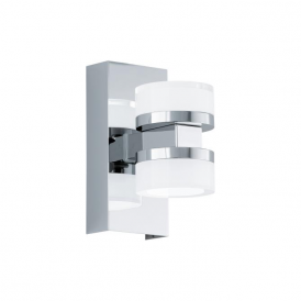 Eglo 94651 Romendo 2 Light Wall Light Polished Chrome IP44