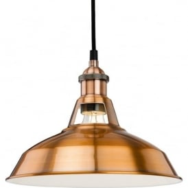 FirstLight 4867CP Albany Pendant Light Brushed Copper