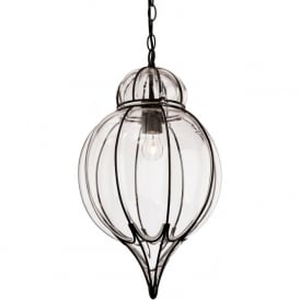 FirstLight 4869BK Pascal Pendant Light Black