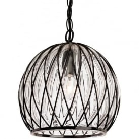 FirstLight 4870BK Pascal Pendant Light Black