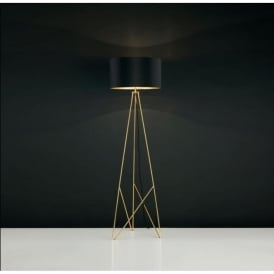 Eglo 39231 Camporale 1 Light Floor Lamp Gold
