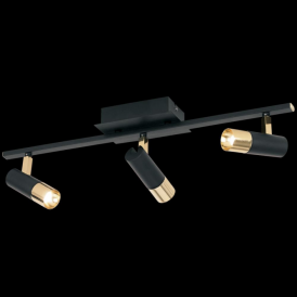 Eglo 39146 Tomares 3 Light Steel Brass Ceiling Spotlight
