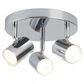 Searchlight 3173CC Rollo 3 Light Ceiling Spotlight Polished Chrome