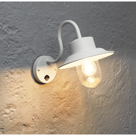 Endon 70305 Chesham PIR 1 Light Outdoor Wall Light Stone IP44