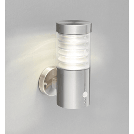 Endon 72916 Equinox PIR LED Marine Grade Wall Light Stainless Steel IP44