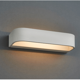 Endon 73418 Free LED Wall Light Matt White