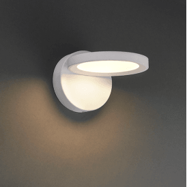 Endon 73245 Alsafi LED Wall Light Matt White