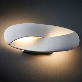 Endon 73419 Soft LED Wall Light Matt White