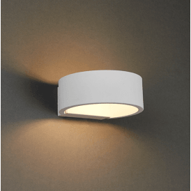 Endon 73244 Alcor LED Wall Light Matt White