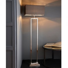 Endon 73571 Cassier 1 Light Base Only Floor Lamp Solid Brass
