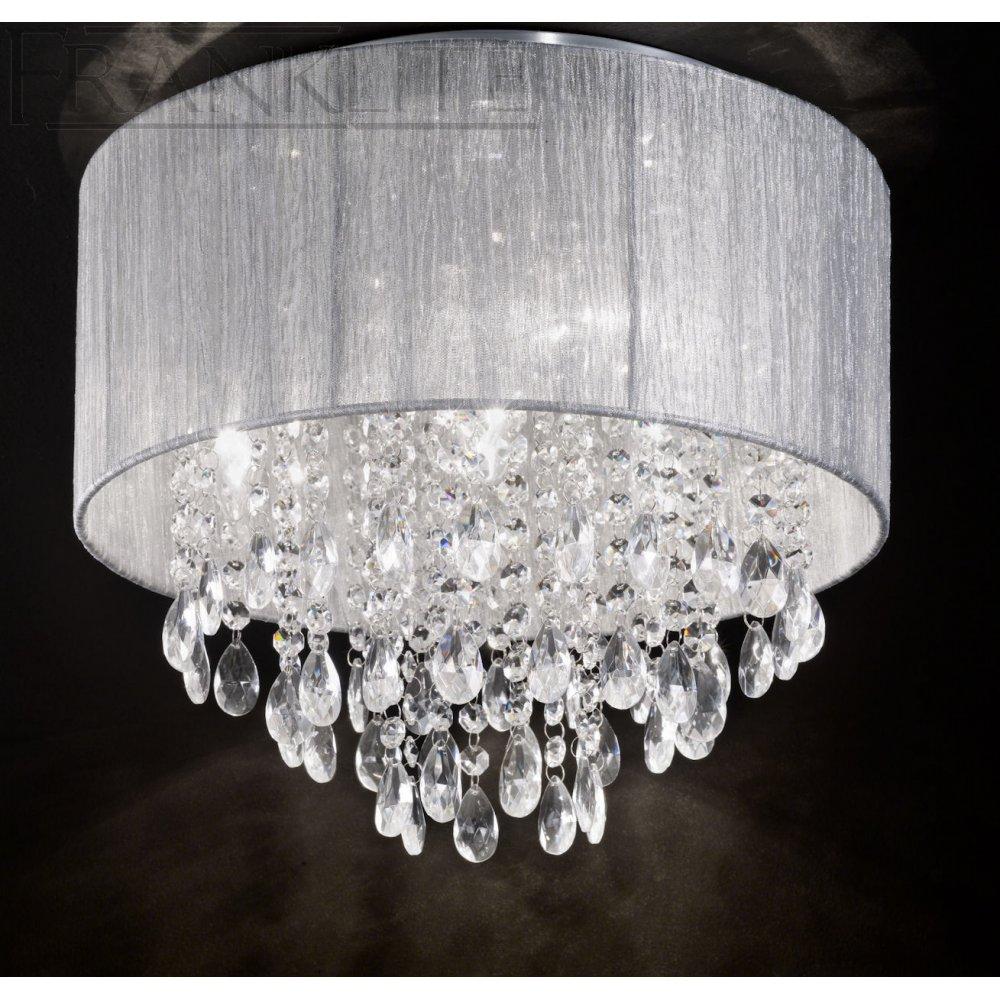 Mansell Royale Translucent Silver Ceiling Light Fl2281 4
