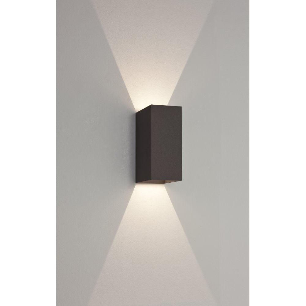 Astro 255 Oslo 255 25 Light LED Outdoor Wall Light IP25 Black
