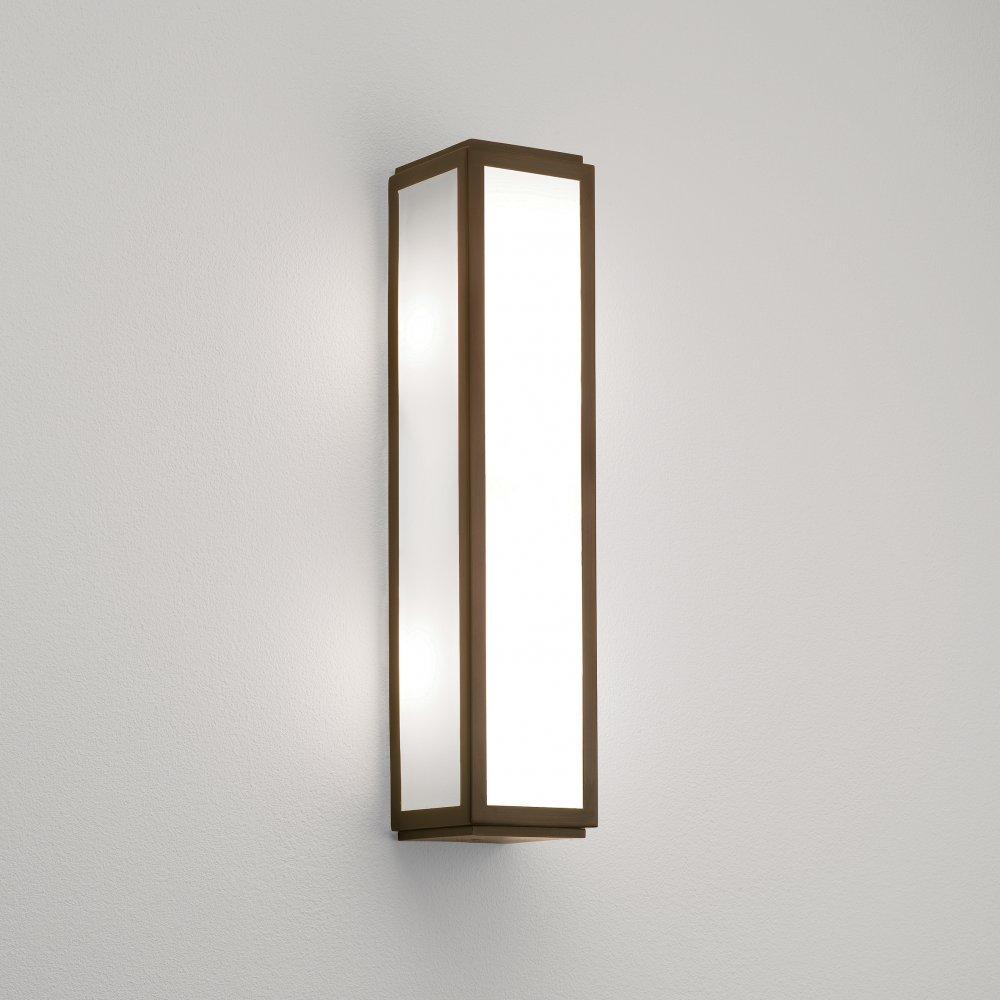 Astro 8224 Mashiko Classic 360 Bathroom Wall Light Bronze